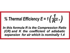 Compression Ratio Thermal Efficiency